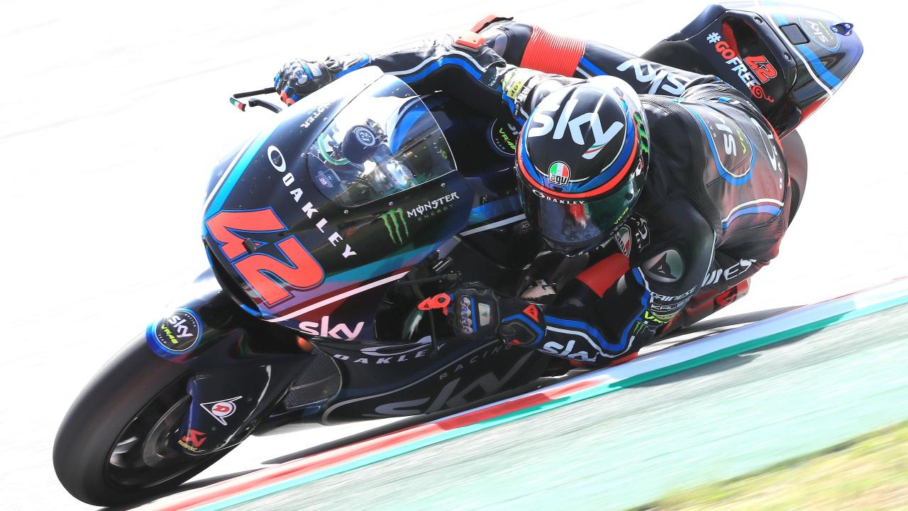 Pecco Bagnaia y Joan Mir encabezan los libres de Moto2 en Assen