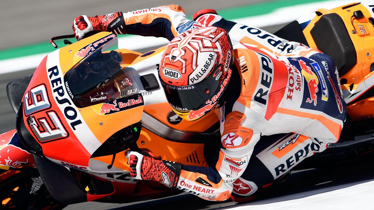 """Marc Márquez: """"Esperaba estar más lejos de las Yamaha y que Dovizioso no estuviera tan cerca"""""""