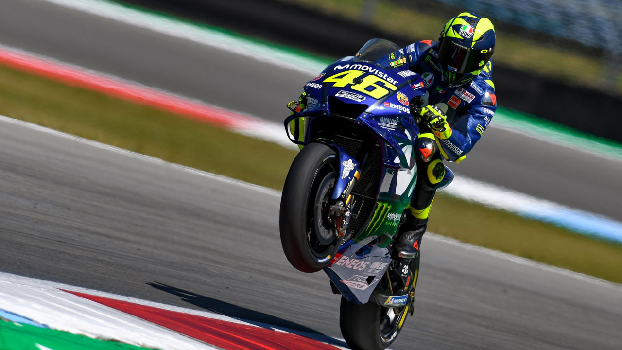 """Valentino Rossi: """"Assen es 'old style', no una de esas pistas diseñadas con ordenador"""""""