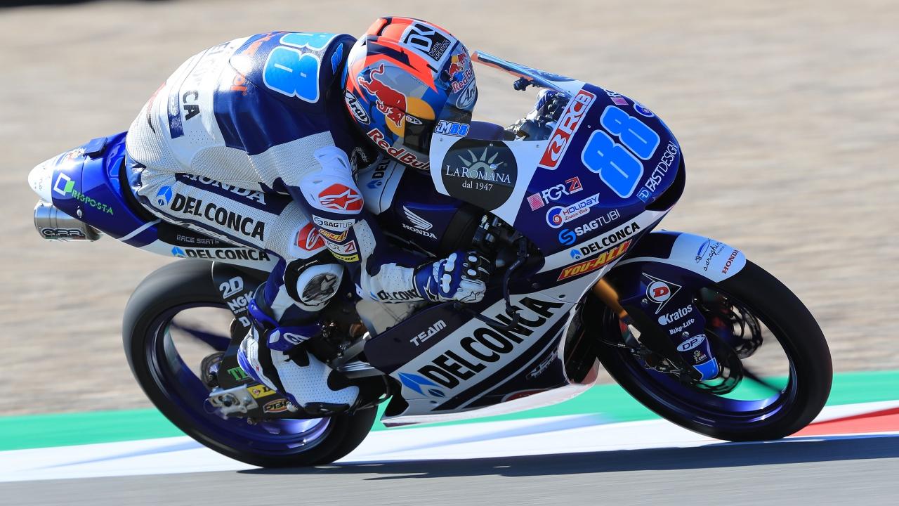 Jorge Martín bate el récord de poles de Moto3 en Assen