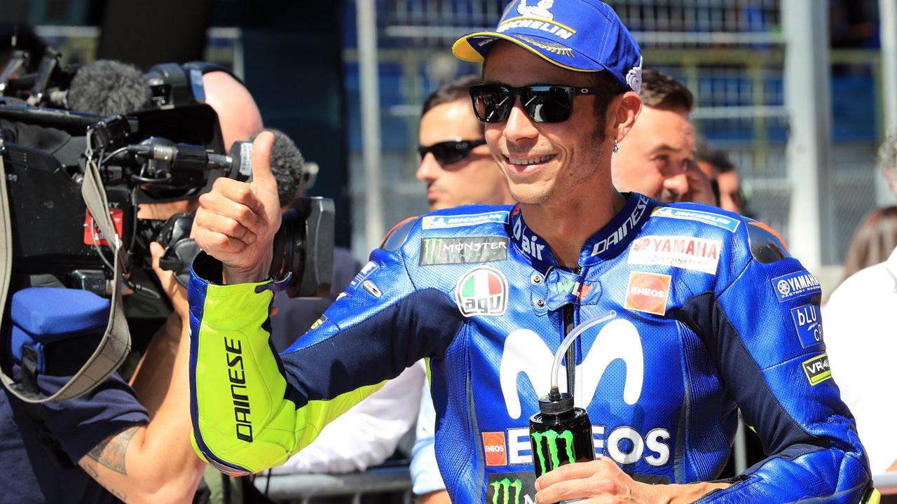 """Valentino Rossi: """"Ganar mañana será más difícil que el año pasado"""""""