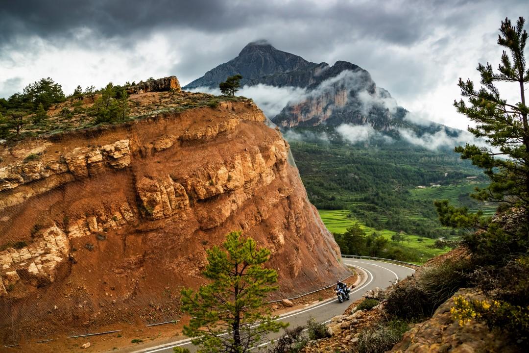 Ruta en moto por el norte de Lleida con Ruralka