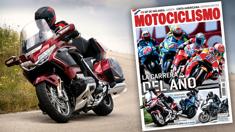 La inolvidable carrera de Assen y la nueva Honda Gold Wing en la portada de MOTOCICLISMO