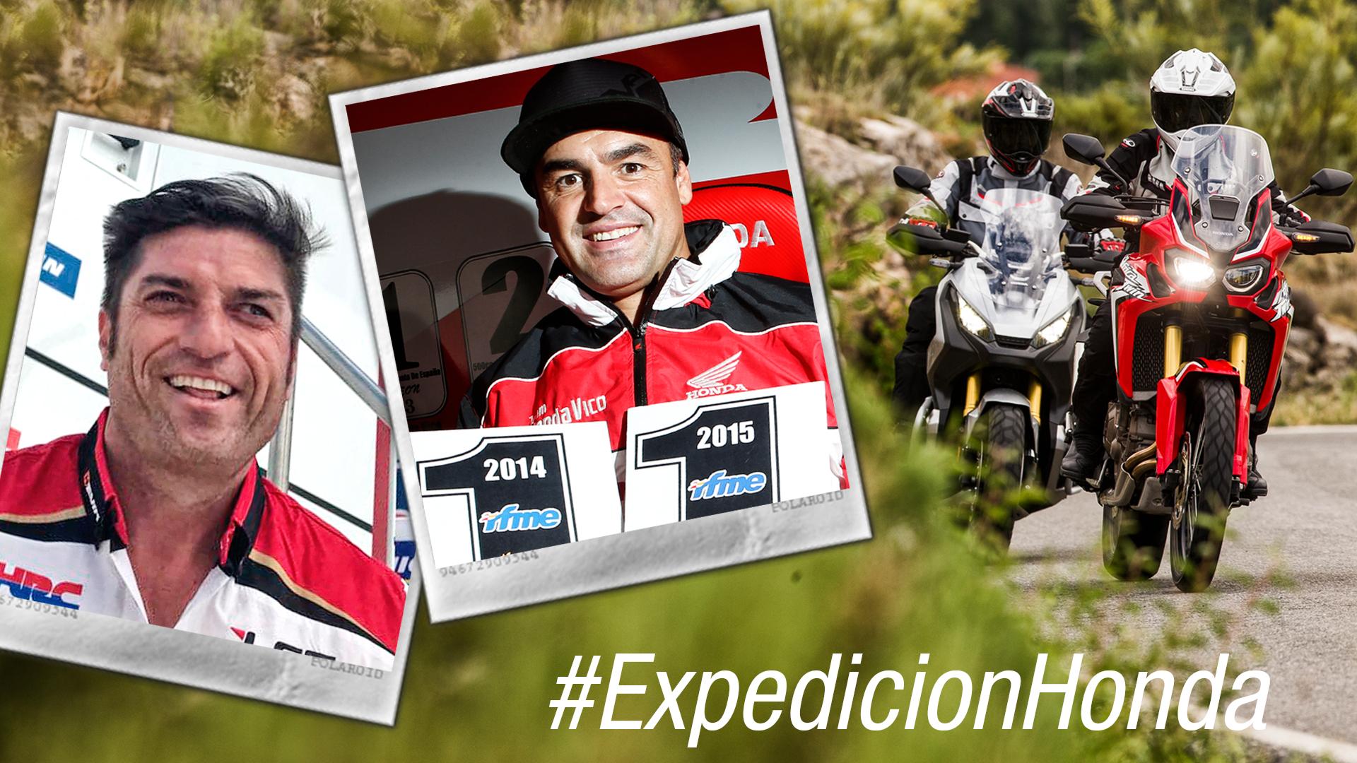 Óscar Haro y Javi García Vico, vuestros monitores en la #ExpediciónHonda