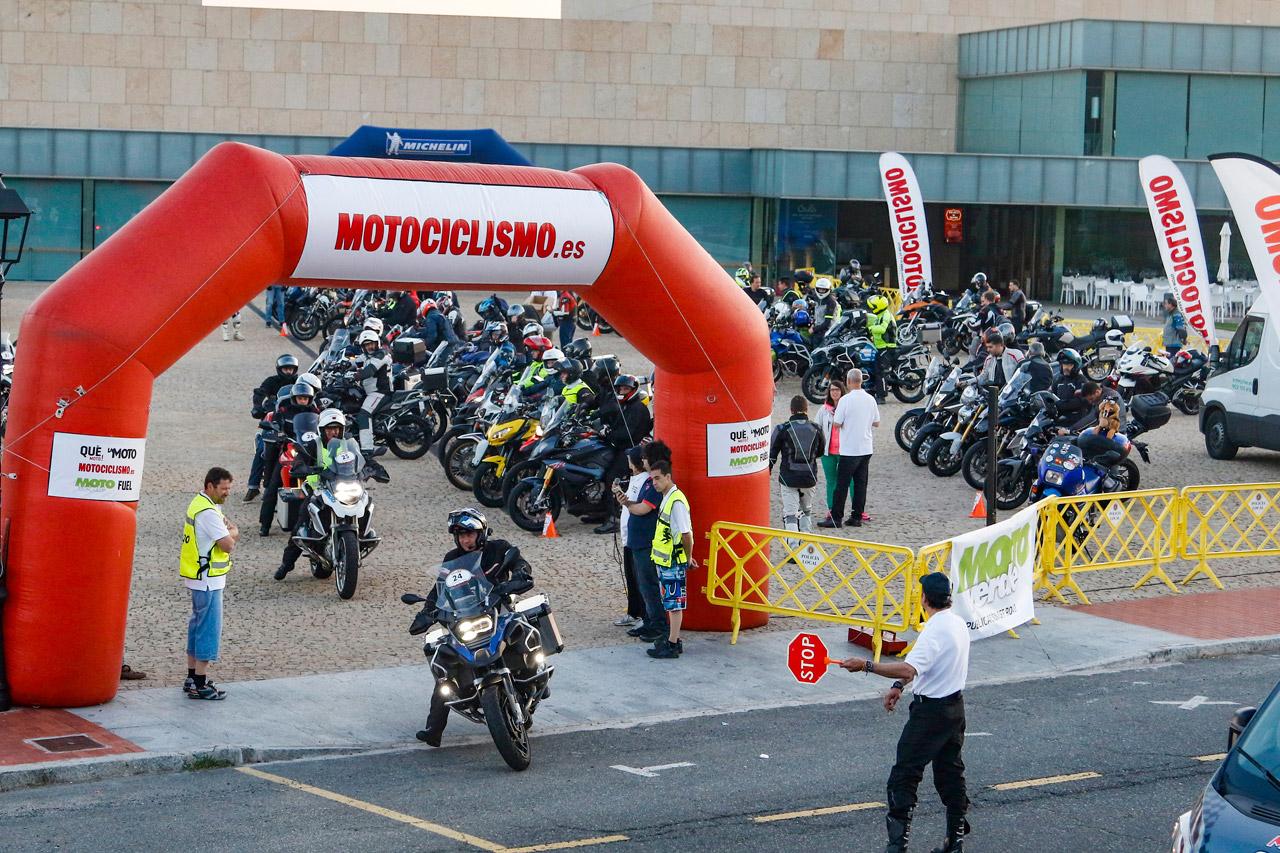 Así fue la primera edición de MOTOCICLISMO Rally