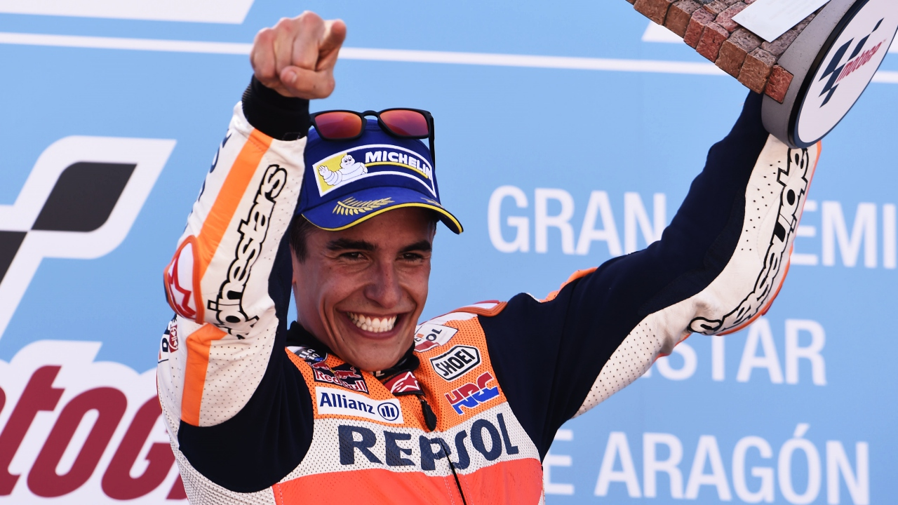 Marc Márquez tendrá una curva a su nombre en MotorLand Aragón