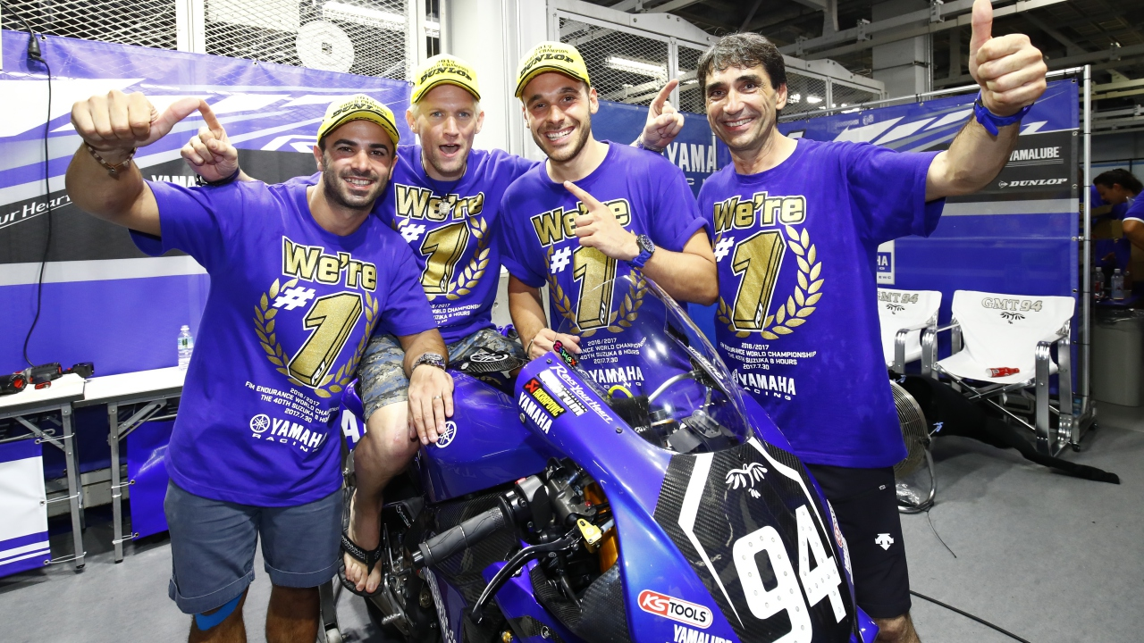 El GMT94 Yamaha abandonará el Mundial de Resistencia tras las 8 horas de Suzuka 2018
