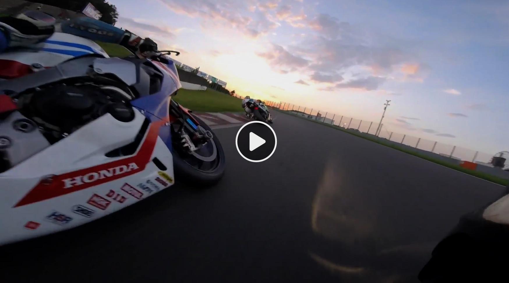 Pura adrenalina en este vídeo con la Yamaha R1 en Suzuka