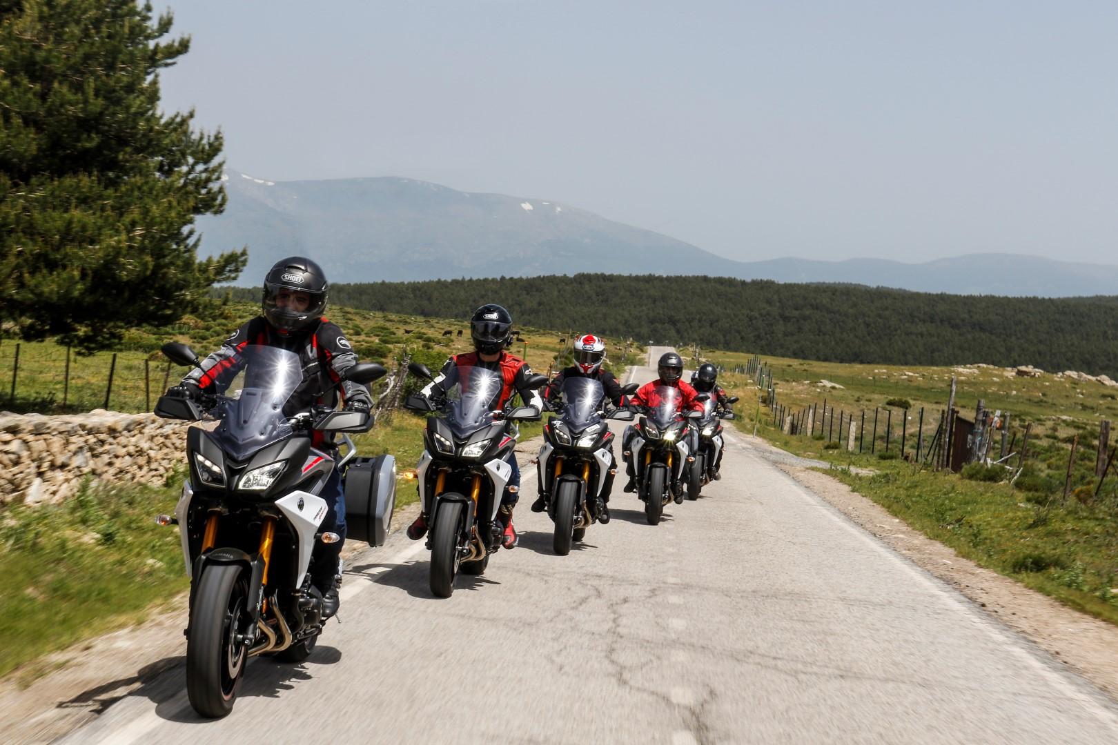 Yamaha Tracer 900 GT 2018, ruta con lectores en vídeo
