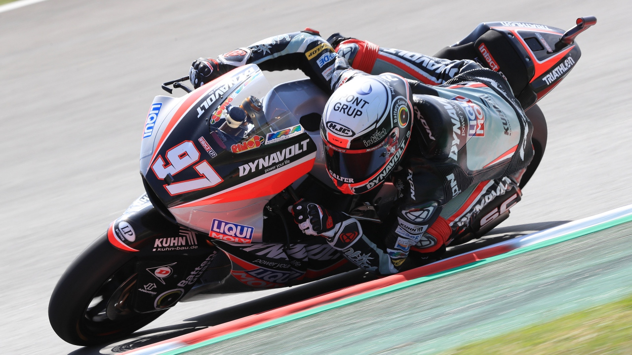 Xavi Vierge y Álex Márquez lideran Moto2 en un viernes igualadísimo en Sachsenring