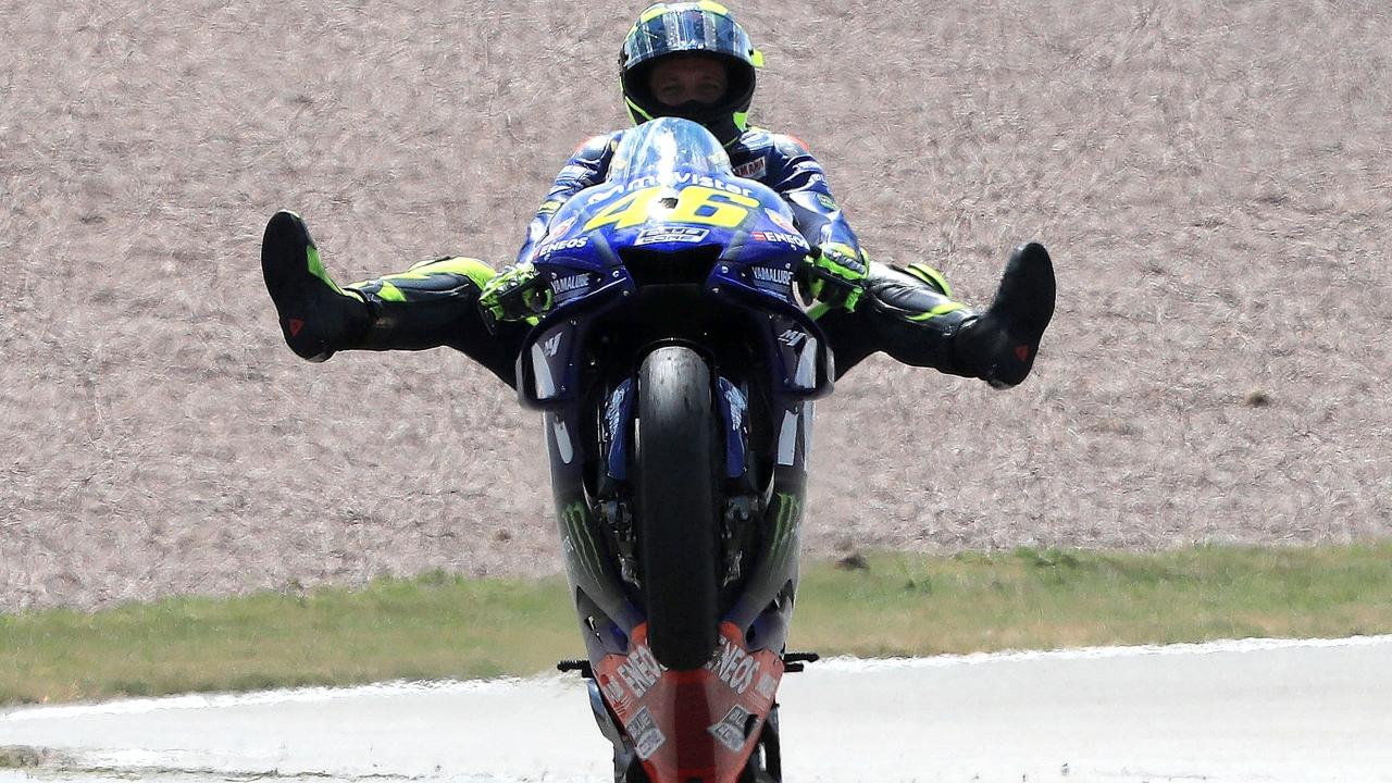"""Valentino Rossi: """"No es sólo mi mejor resultado del año, es el fruto de mi mejor carrera"""""""