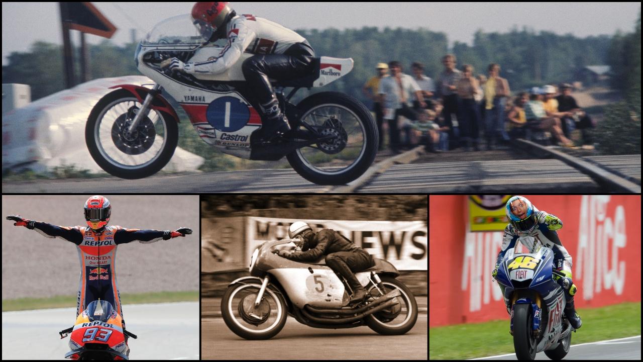 Las rachas más largas en un mismo circuito en la historia del Mundial de motociclismo