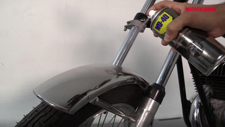 Cómo conseguir un acabado brillante de tu moto