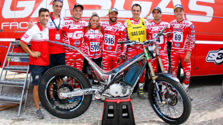 Gas Gas obtiene su segundo título consecutivo en el Mundial de Trial-E