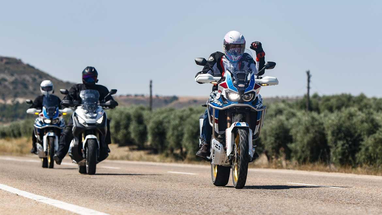 #AventuraHonda 2018: Jornada de pruebas con las Honda Africa Twin y X-ADV