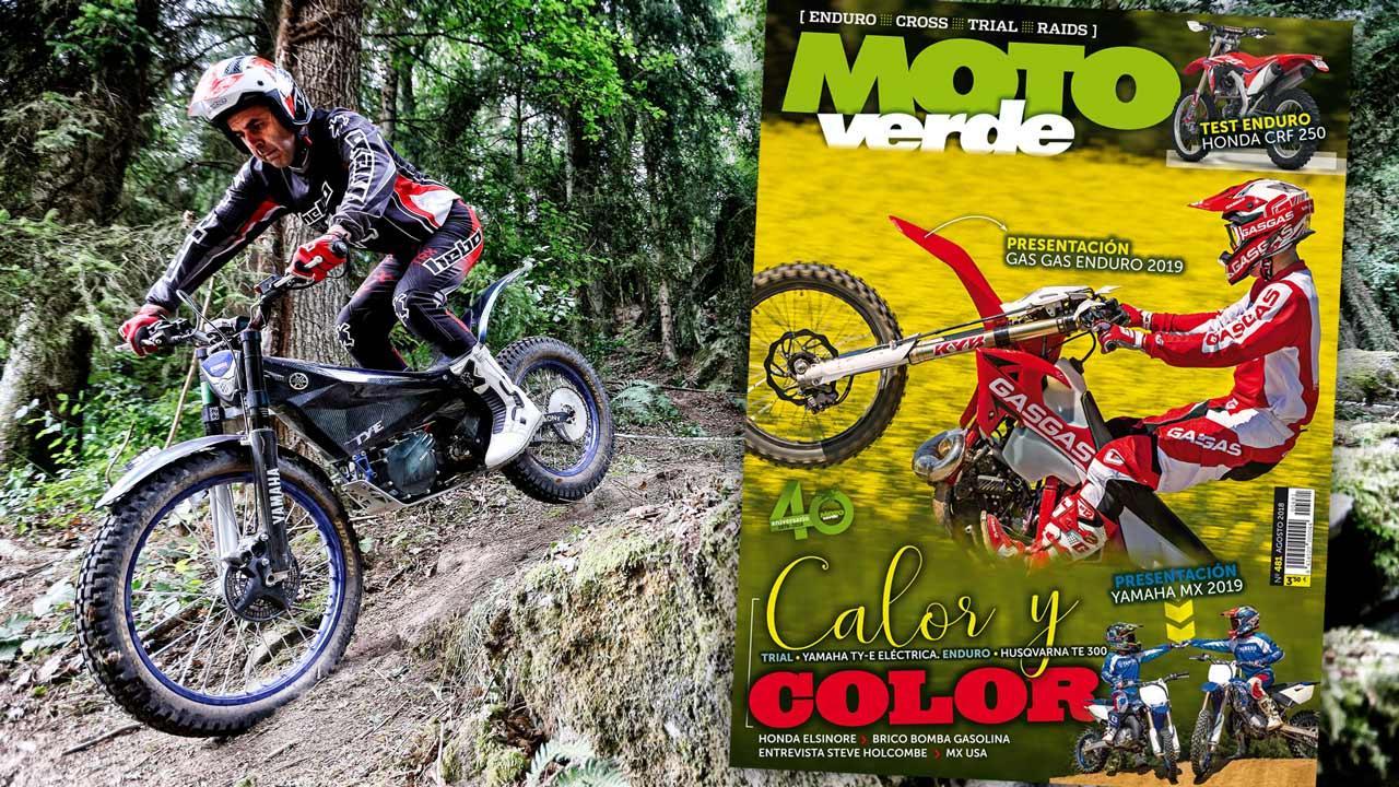 MOTO VERDE 481, contenidos y sumario de la revista