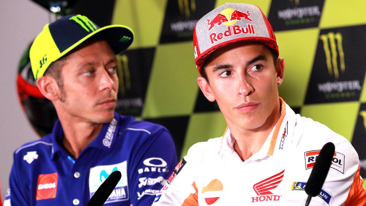 """Marc Márquez: """"Si las dos Yamaha van segunda y tercera es que algo están haciendo bien"""""""