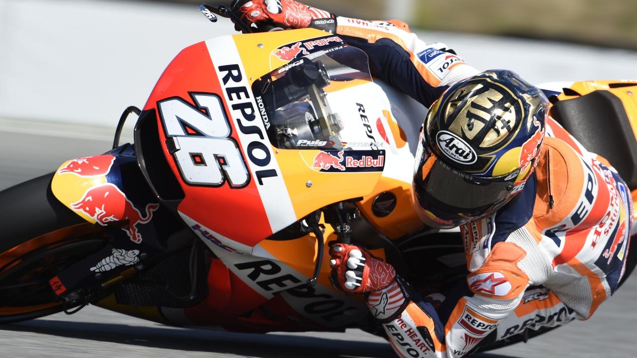 Dani Pedrosa resurge en Brno y se pone al frente de MotoGP