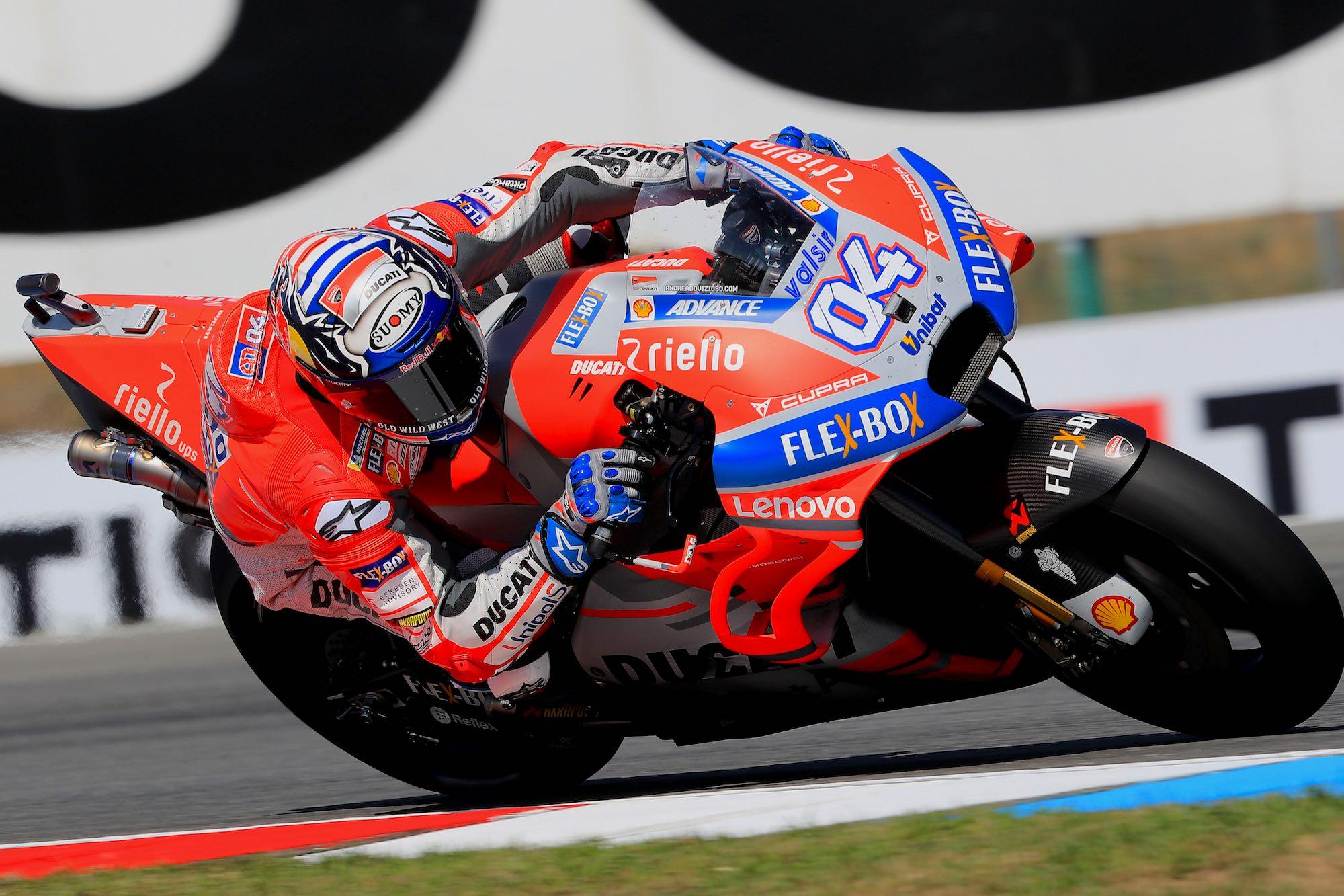 Andrea Dovizioso gana el pulso por la pole position en MotoGP