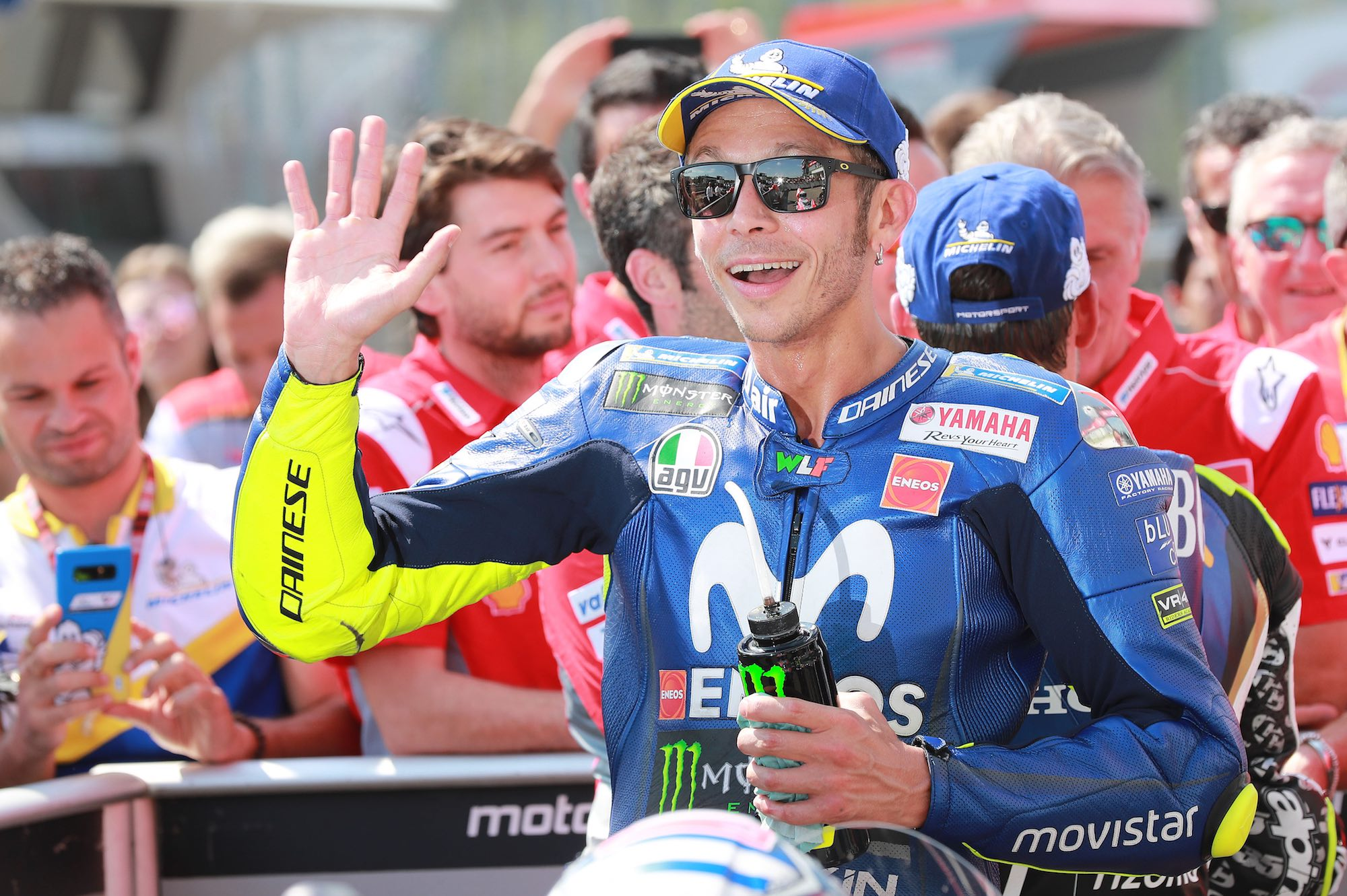 """Valentino Rossi: """"Si Forcada y Viñales se separan, será difícil crear ahora una atmósfera óptima"""""""