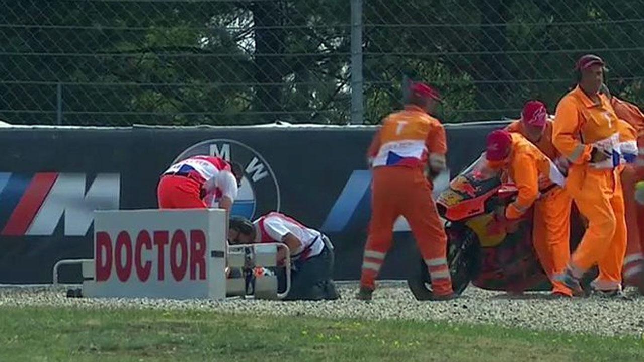 Pol Espargaró es baja por lesión en el GP de la República Checa