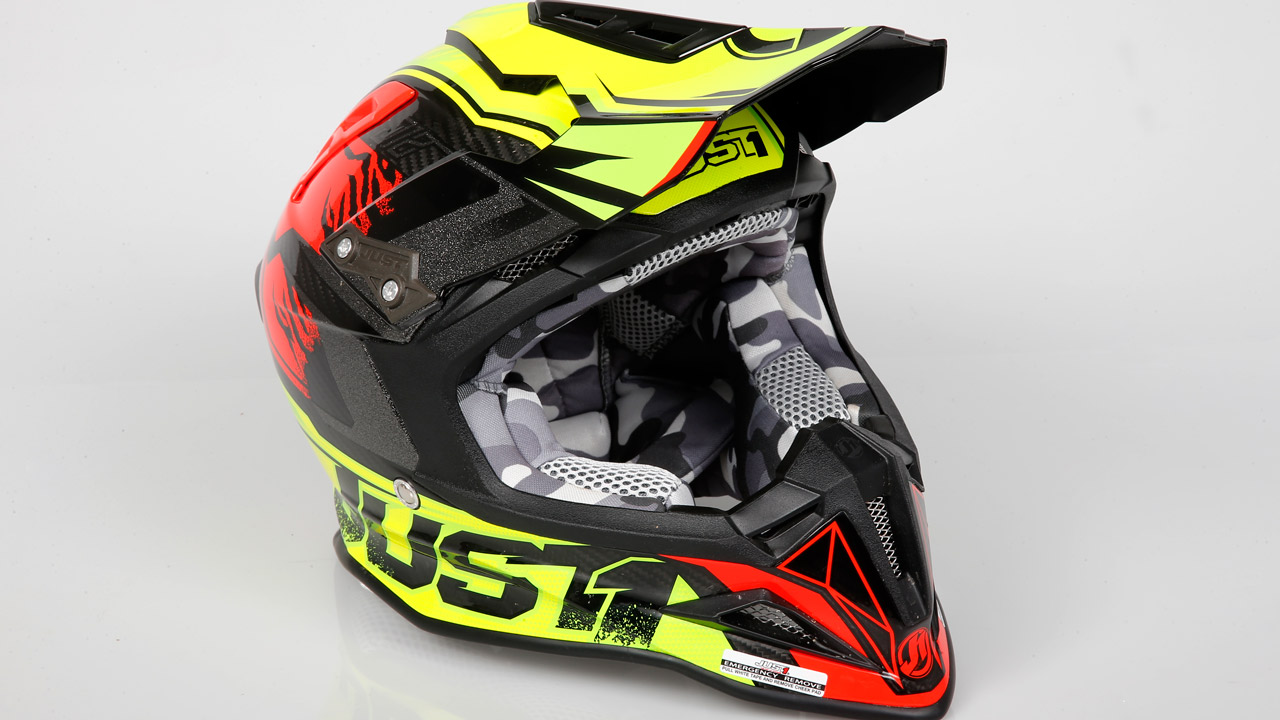 Casco Just1 Racing J12, prueba de producto
