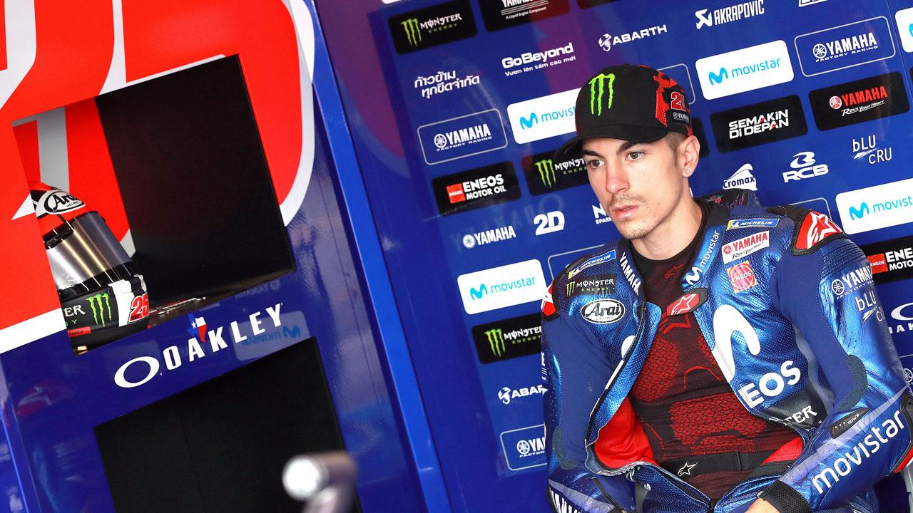 """Maverick Viñales: """"Lo de Brno es agua pasada. Se hizo más ruido del necesario"""""""