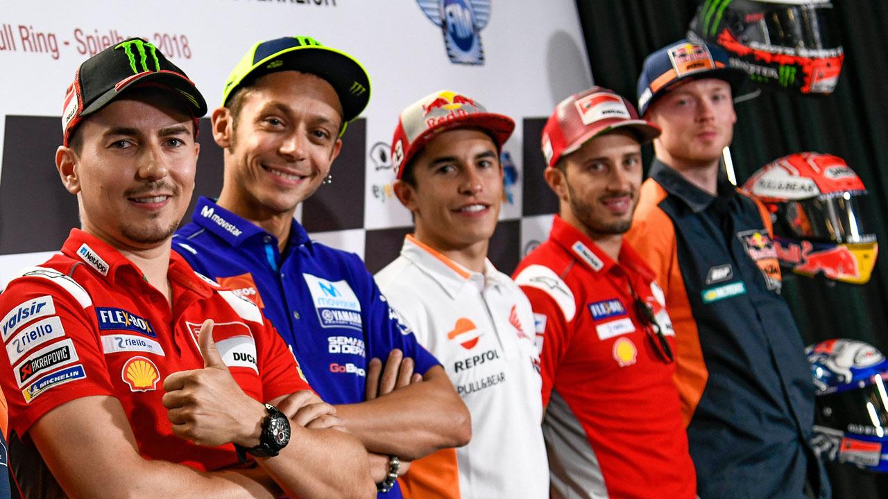 """Marc Márquez: """"La sensación es que Ducati es el rival, pero en el campeonato está Rossi"""""""