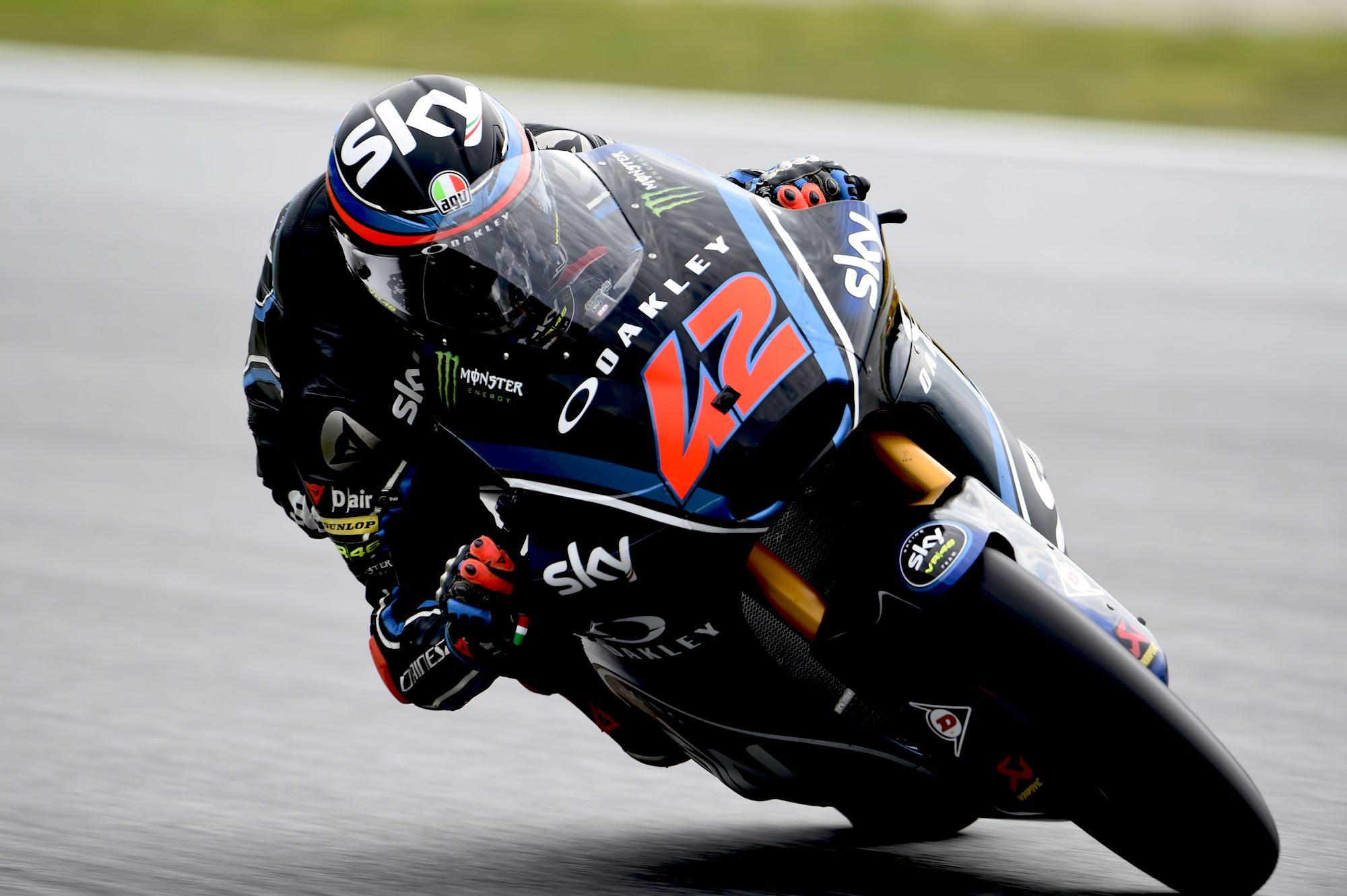 Pecco Bagnaia lidera los cronometrados de Moto2