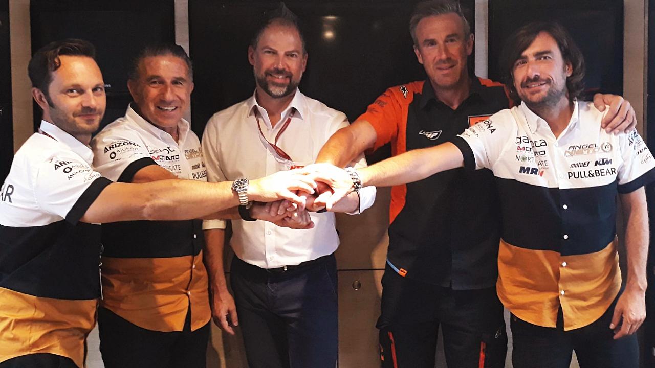 El Ángel Nieto Team se alía con KTM para volver a Moto2 en 2019