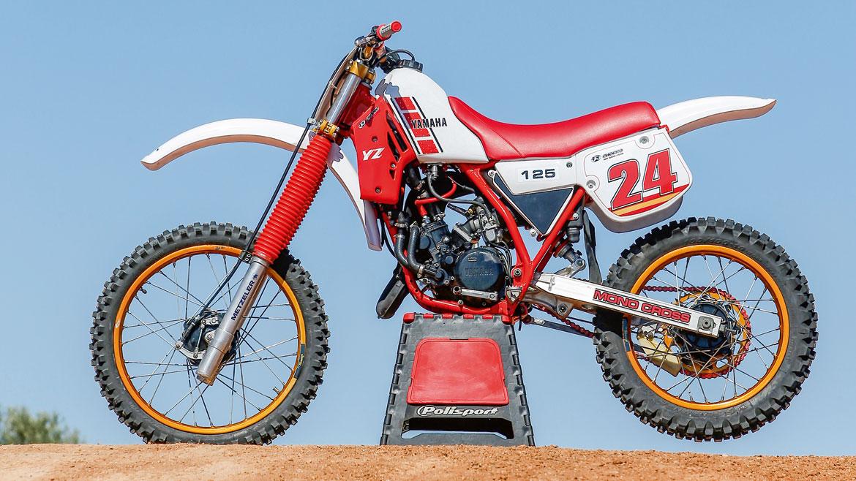 Yamaha YZ 125 '84, prueba y fotos