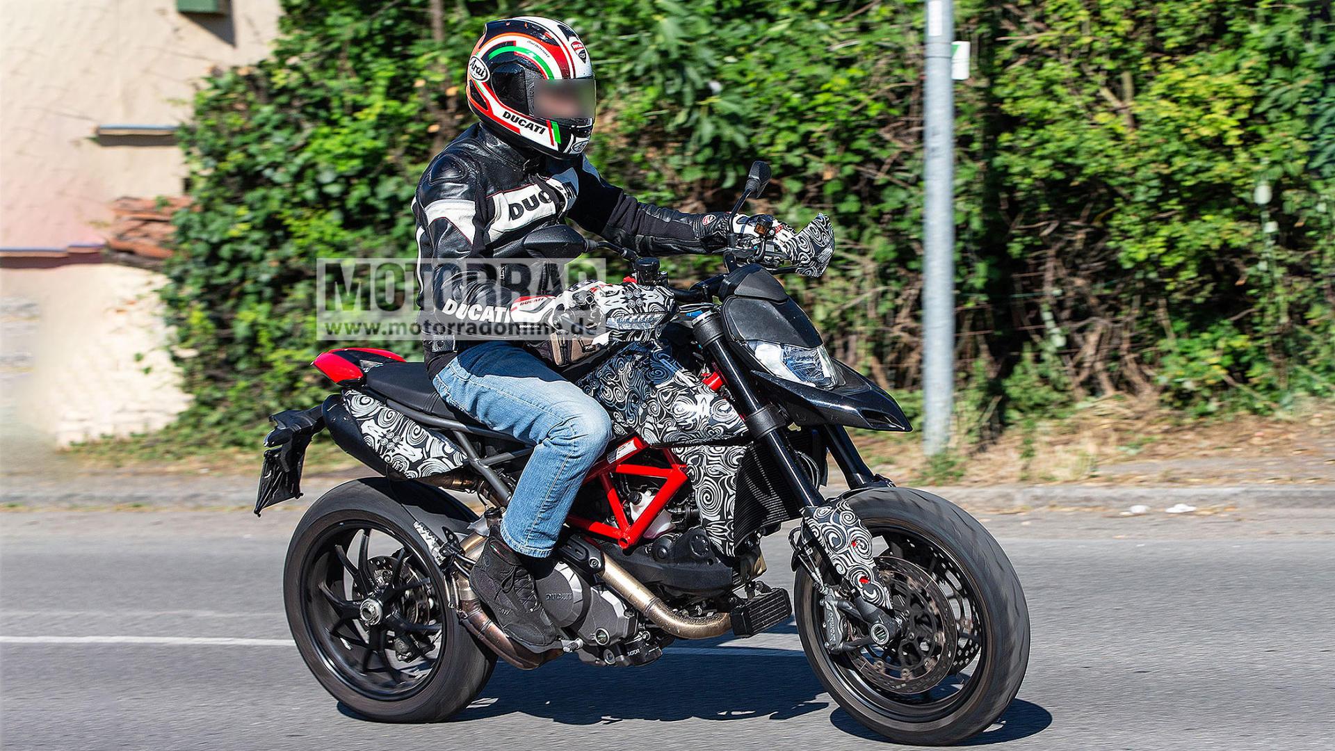 Se acerca una nueva Ducati Hypermotard y estas son las primeras imágenes