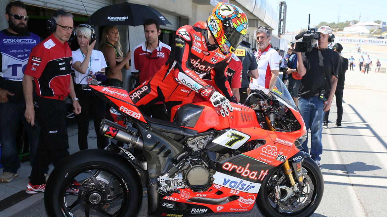 """Chaz Davies amplía su contrato en SBK: """"En Ducati creen en mí"""""""