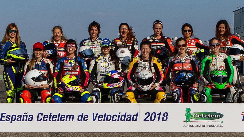 Motociclismo femenino, el talento hecho mujer