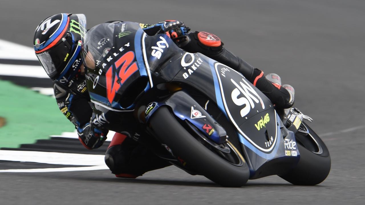 Pecco Bagnaia deja a Remy Gardner sin su primera pole en Moto2 en Silverstone