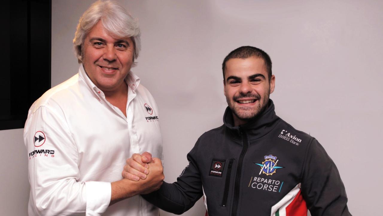 Romano Fenati será piloto de MV Agusta en su retorno al Campeonato del Mundo