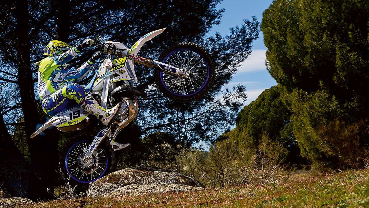 TM EN 125 2018, prueba racing