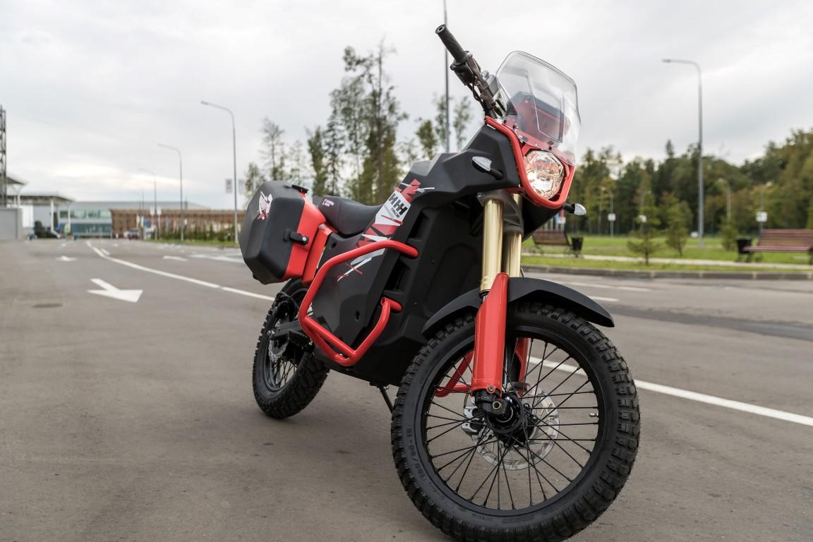 La nueva moto eléctrica de Kalashnikov