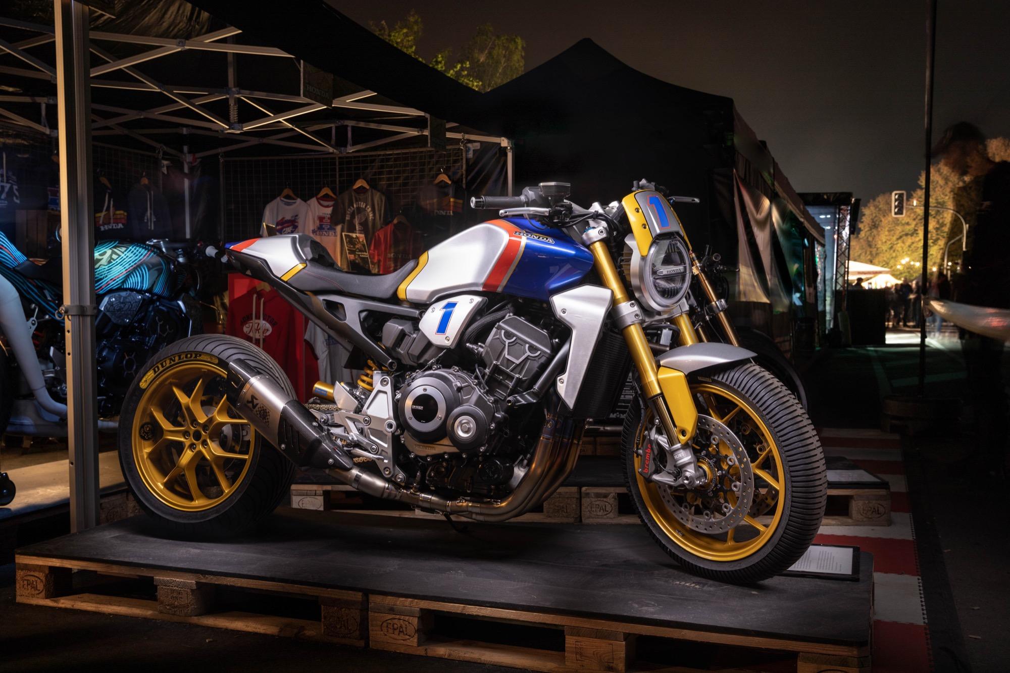 Esta es la espectacular Honda CB1000R de Mick Doohan para Glemseck
