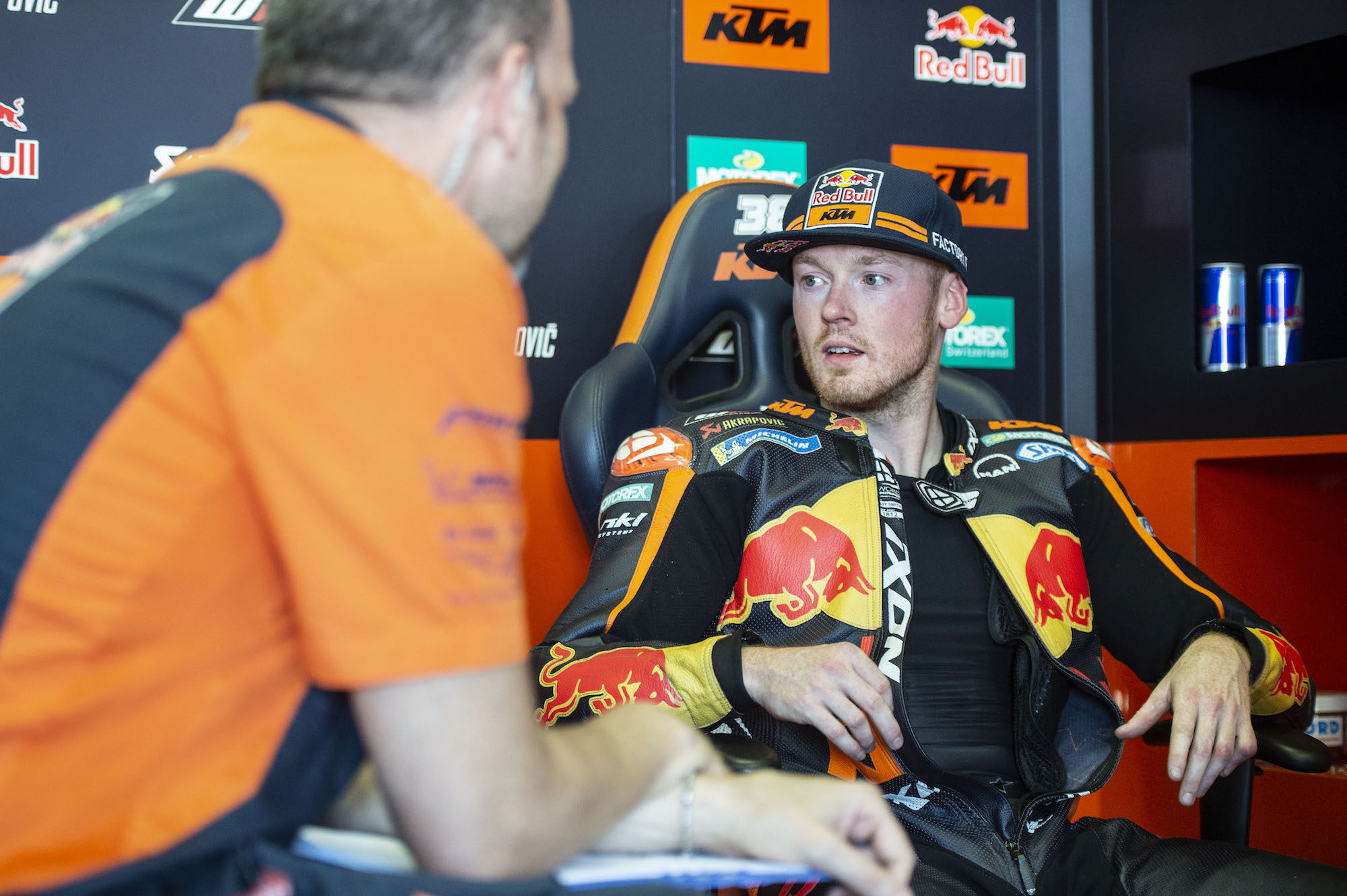 Bradley Smith, piloto de pruebas de Aprilia en MotoGP
