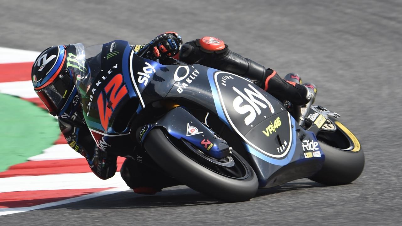 Pecco Bagnaia se luce en Misano con una nueva pole en Moto2