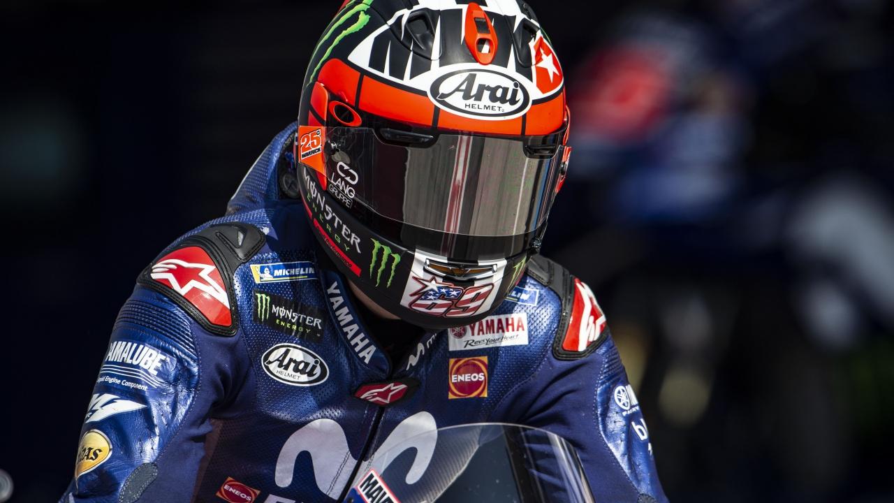 """Maverick Viñales: """"Tengo curiosidad en ver cómo funciona la moto en carrera"""""""