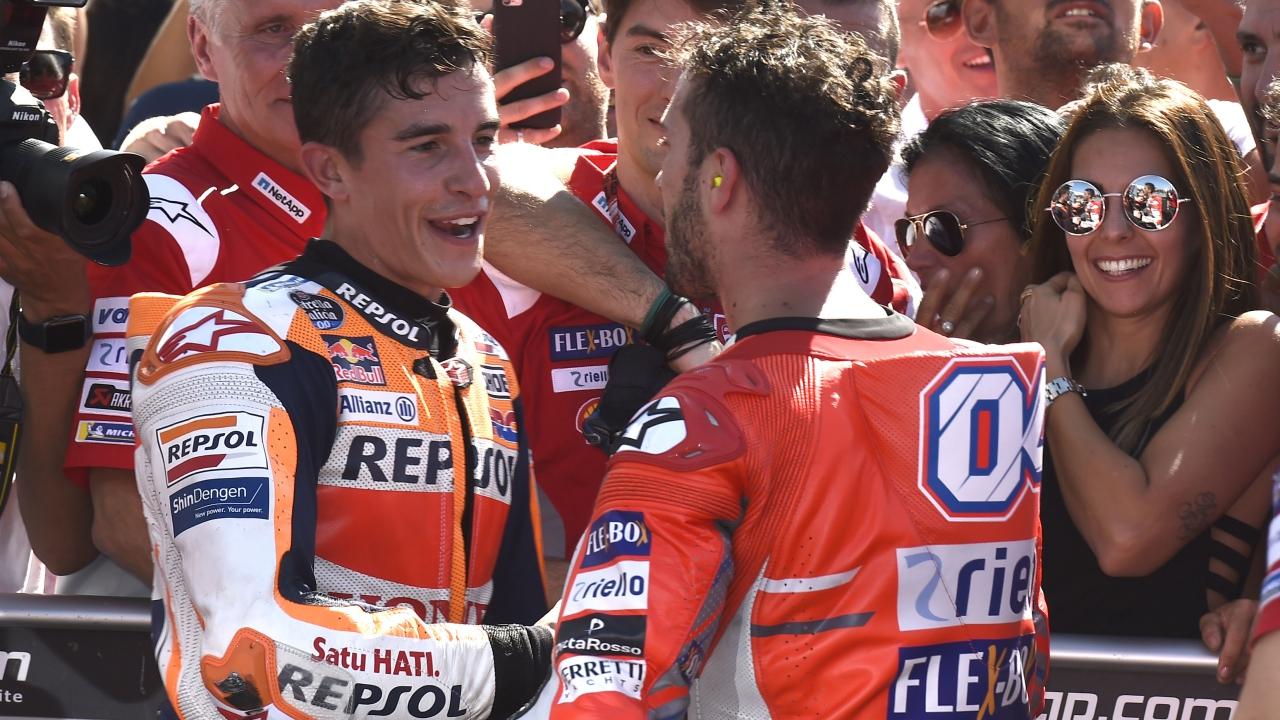 """Marc Márquez: """"Luchar contra las Ducati es difícil, quizás han encontrado algo"""""""