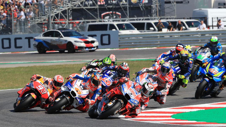 Las reglas cambian en MotoGP: sanciones, pilotos sustitutos y salidas en mojado
