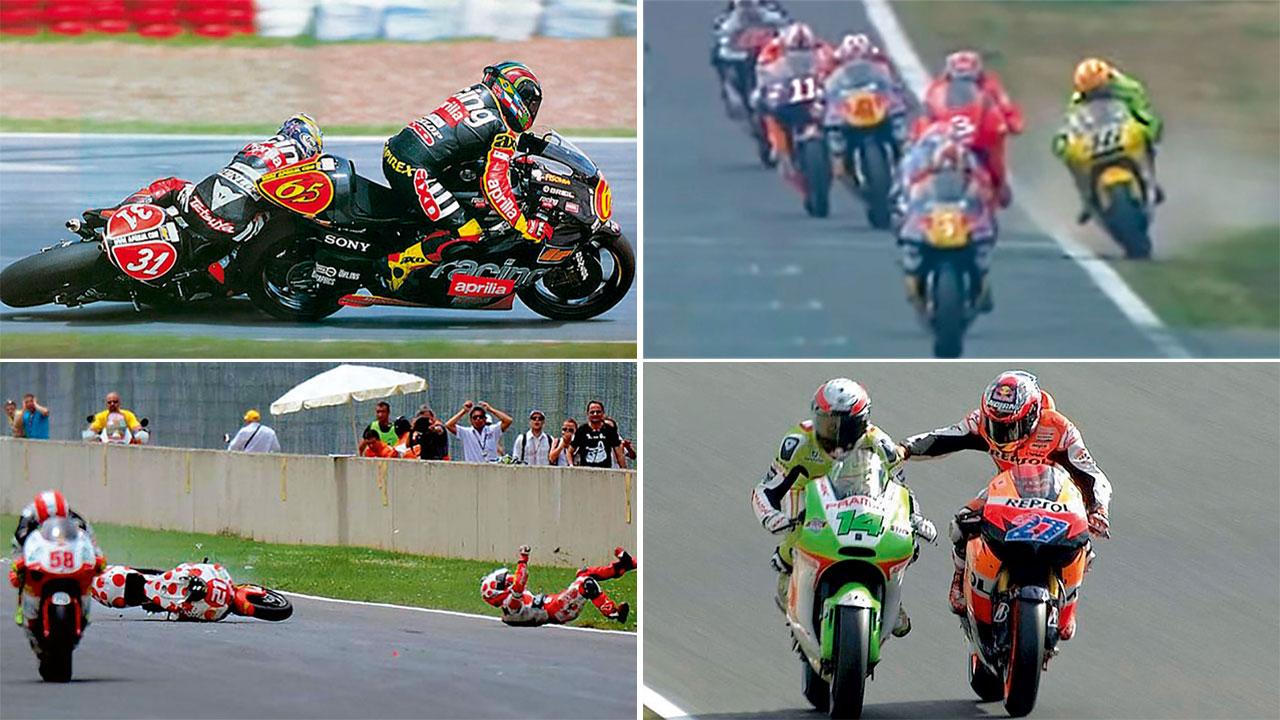 Los otros Fenati: Las 22 acciones más antideportivas de MotoGP