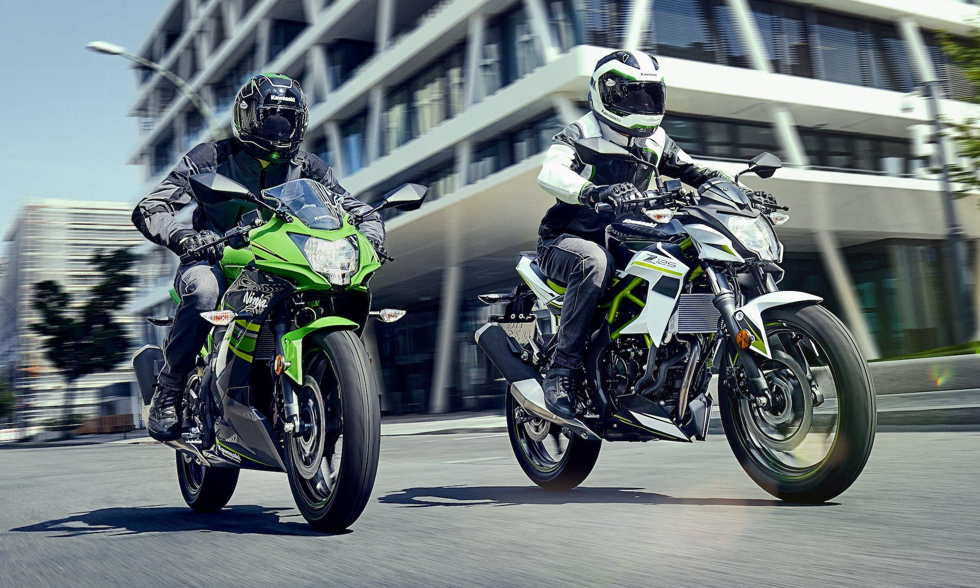 Kawasaki Ninja 125 y Z125, espíritu Sugomi en la más pequeña cilindrada