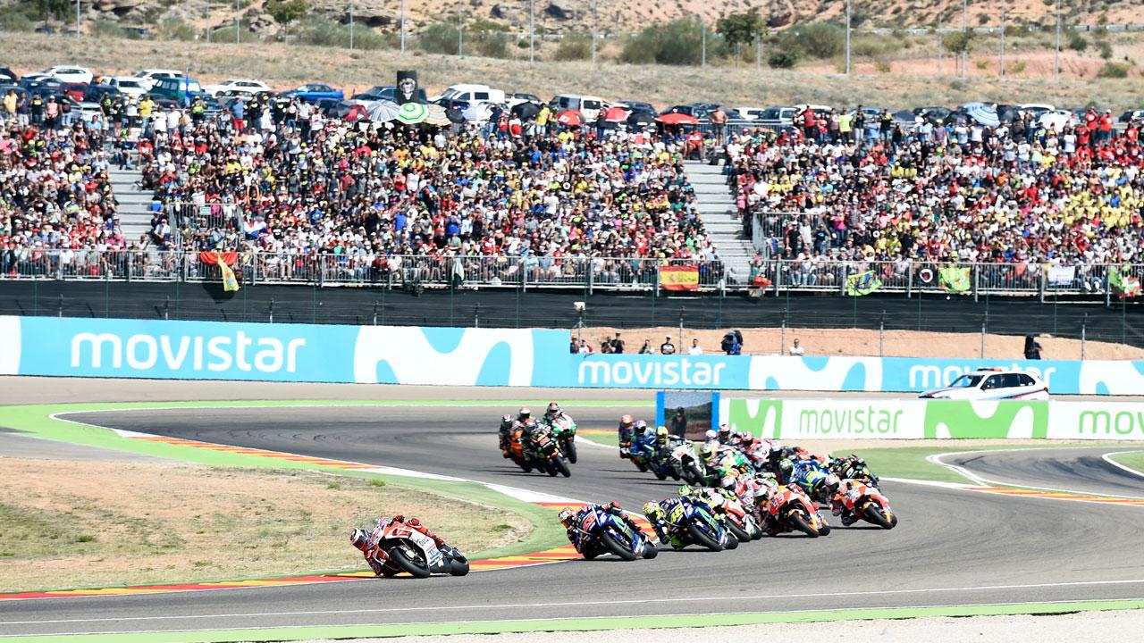 GP de Aragón de MotoGP: Información y actividades en MotorLand
