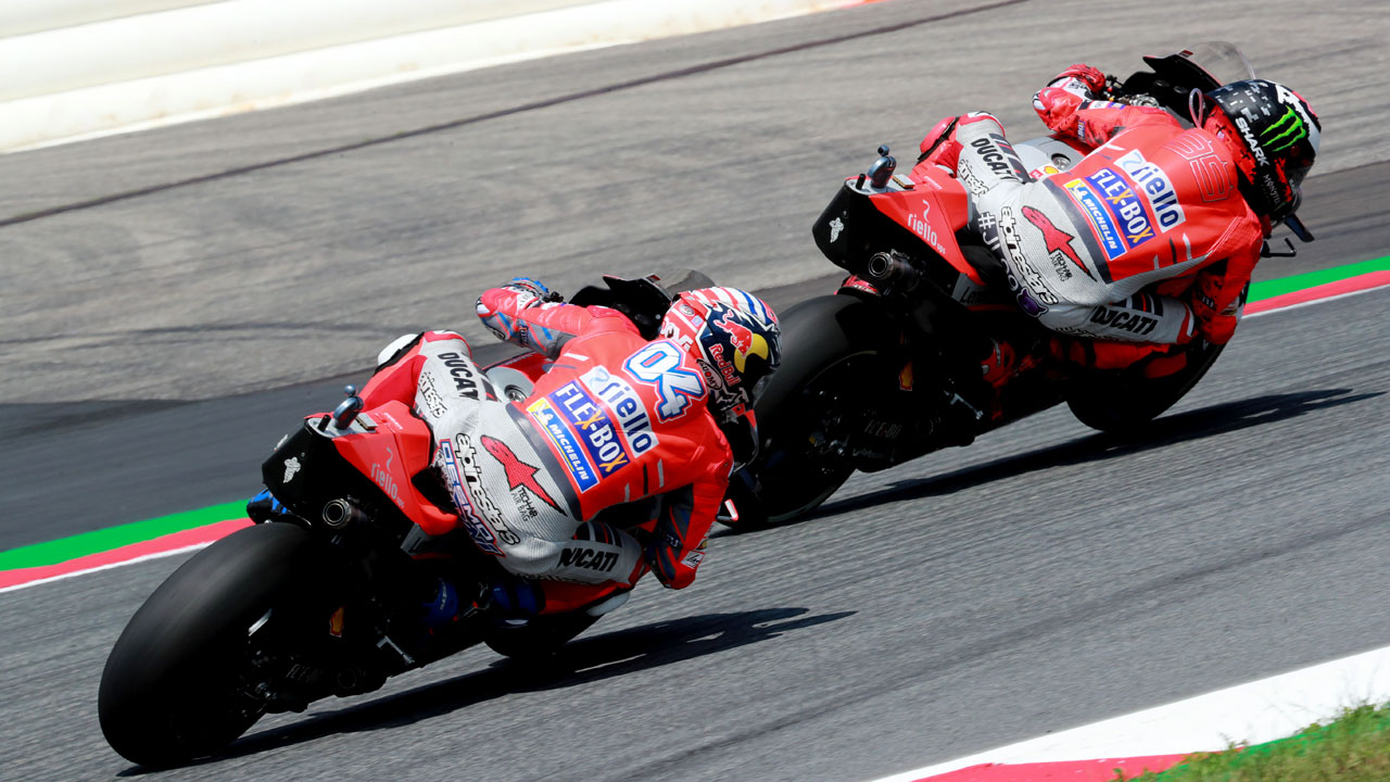 "Jorge Lorenzo: ""Ducati me ha prometido el mismo trato hasta el final"""