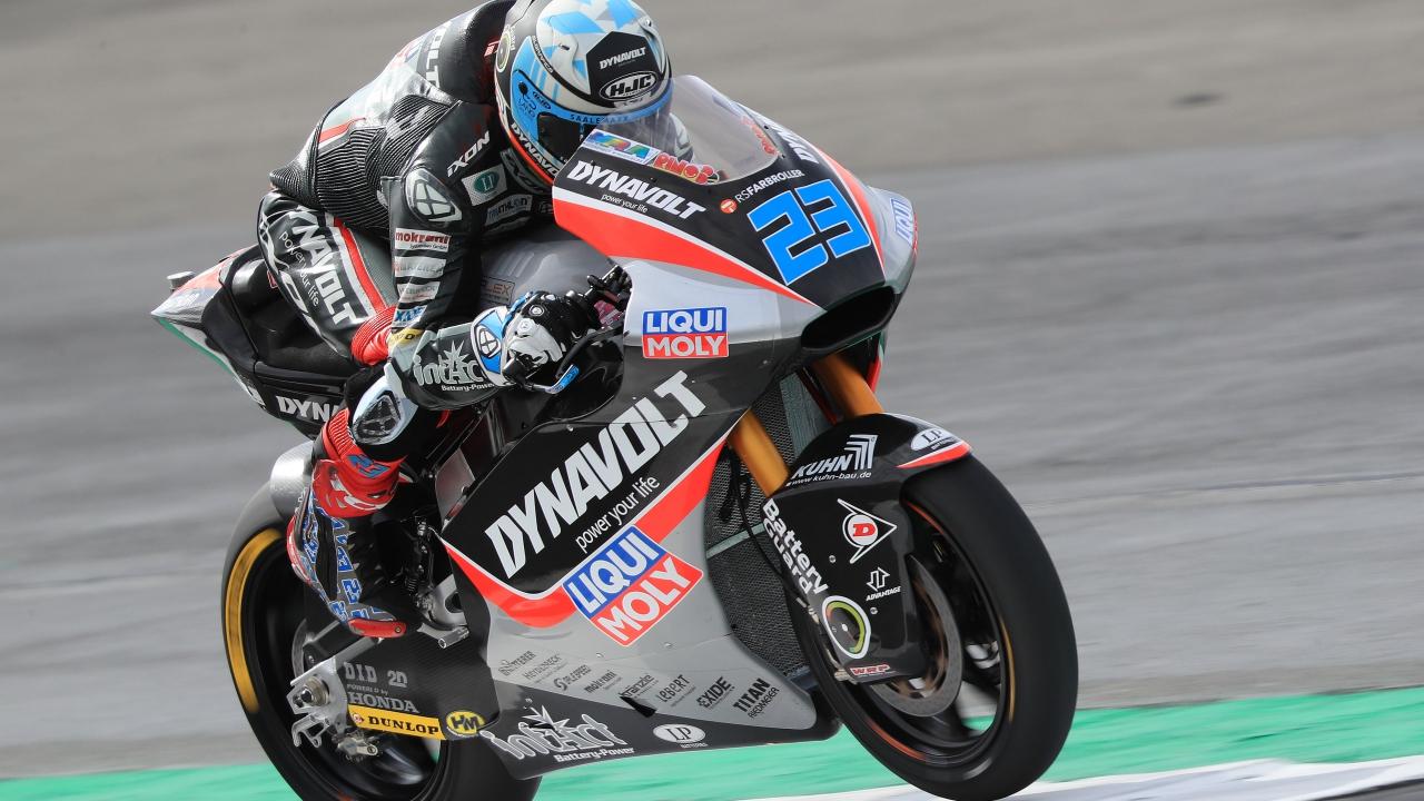 Marcel Schrotter lidera el viernes de Moto2 en Motorland ante Pecco Bagnaia