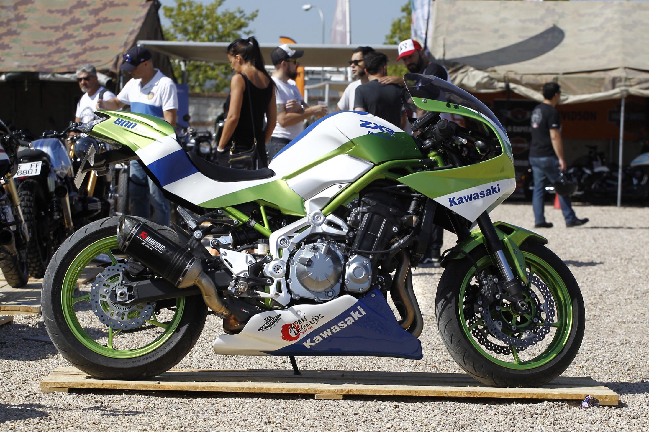 Así puedes transformar tu Kawasaki Z900 en una deportiva de leyenda